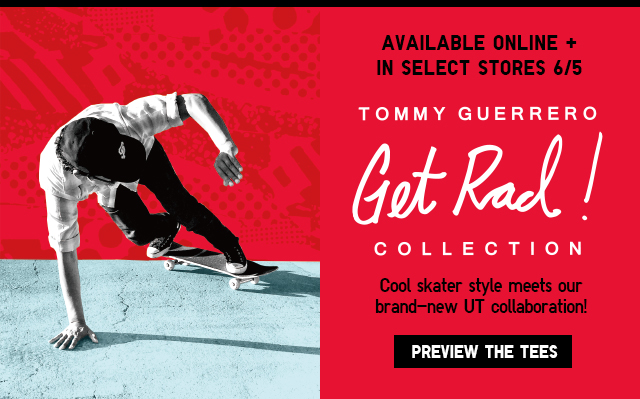 Tommy Guerrero UT T-Shirts - Preview The Tees