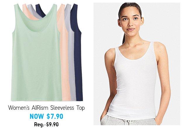 AIRism Sleeveless Top - Shop Women