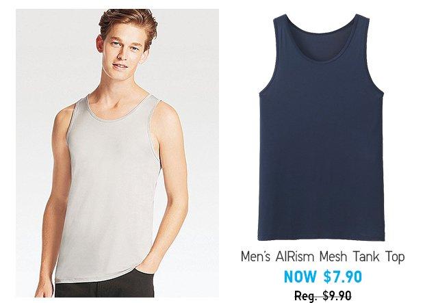 AIRism Mesh Tank Top - Shop Men