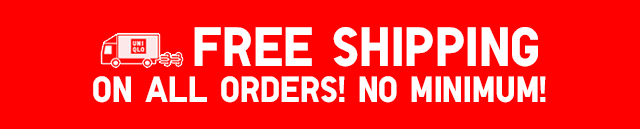 Free Shipping On All Orders $75