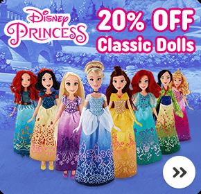 Disney Princess Classic Dolls