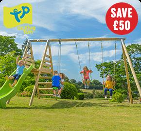 TP Round Wood Multi Playcentre