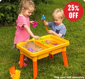 Sand and Water Fishing Table