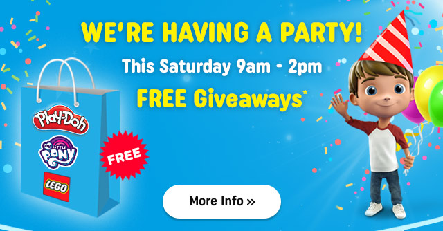 We're having a party and you're invited!