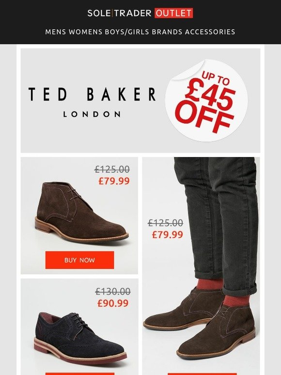 069dacad5 Soletrader Outlet  It s Ted Baker time