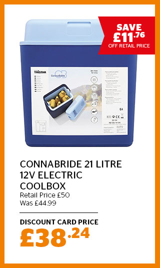 Connabride 21 litre 12V Electric Coolbox