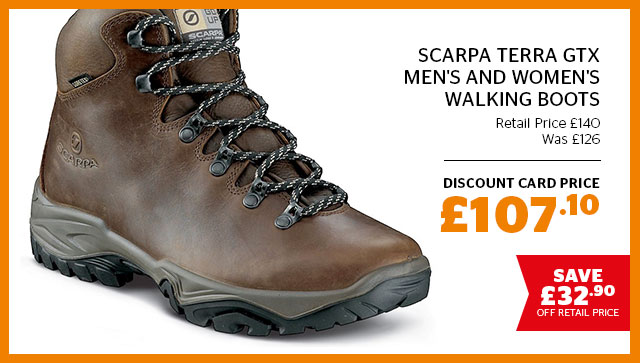Scarpa Terra GTX Men's and Women's Walking Boots