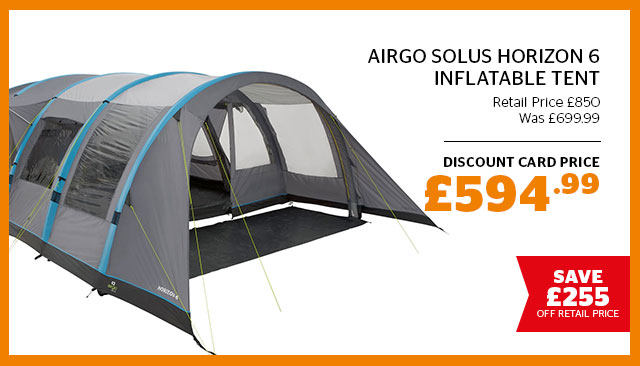 Airgo Solus Horizon 6 Inflatable Tent