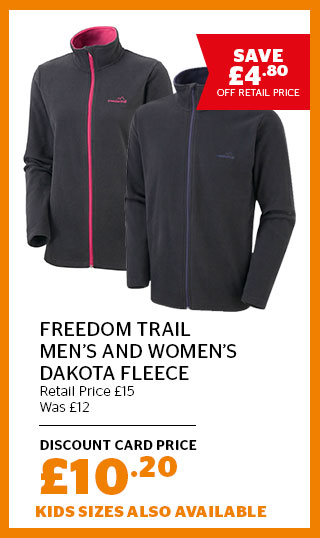 Freedom Trail Men's and Women's Dakota Fleece