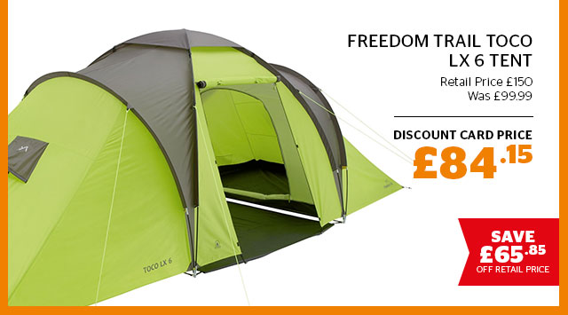 Freedom Trail Toco LX 6 Tent