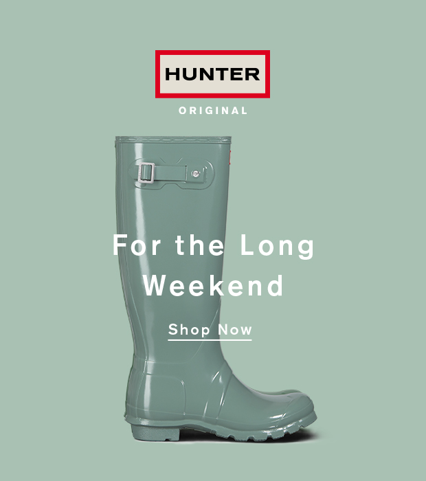 For the Long Weekend: Shop Now