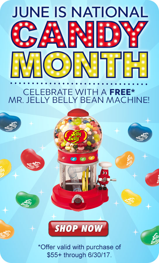 Jelly Belly: Celebrate National Candy Month with a FREE Bean