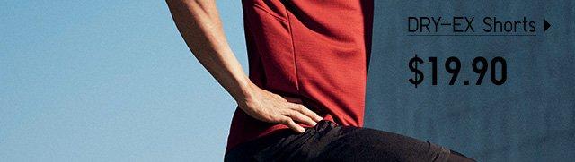 DRY-EX Shorts - Shop Men