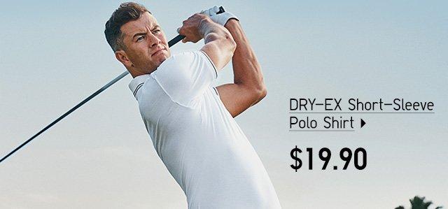 DRY-EX Short-Sleeve Polo Shirt - Shop Men