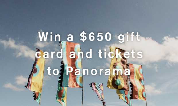 Win a $650 gift card and tickets to Panorama
