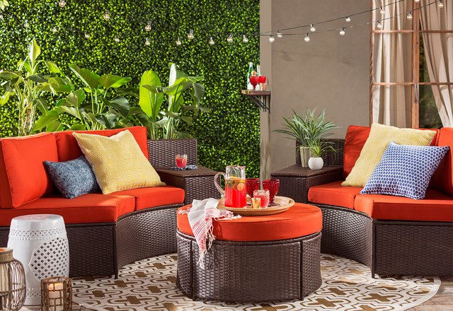 Joss Main Posh Patio Furniture More For Less Vacation Styles At Staycation Prices Milled