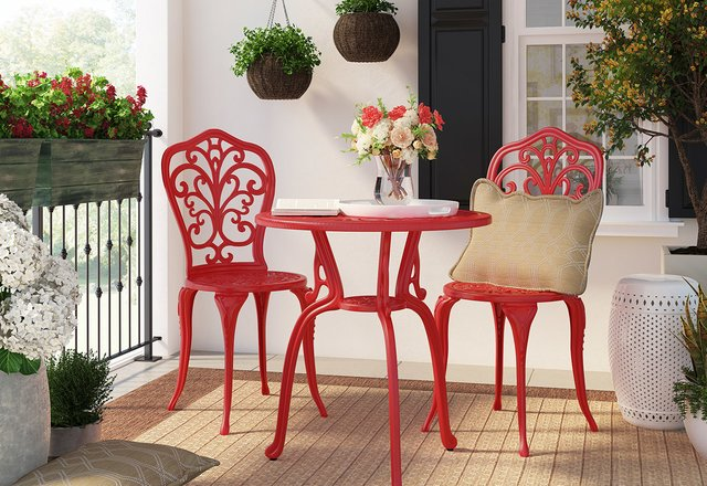 Joss & Main Posh patio furniture & more FOR LESS Vacation styles at