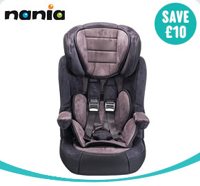 Nania Imax Premium Group 1-2-3 Car Seat Charcoale