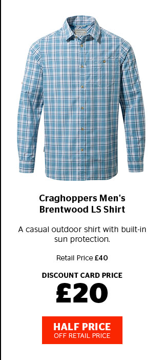 Craghoppers Men's Brentwood LS Shirt