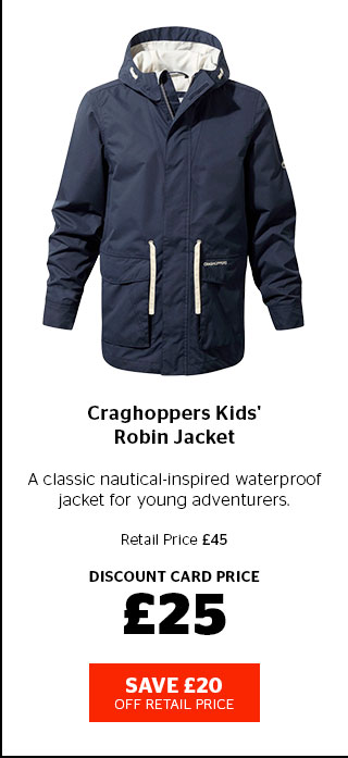 Craghoppers Kids' Robin Jacket