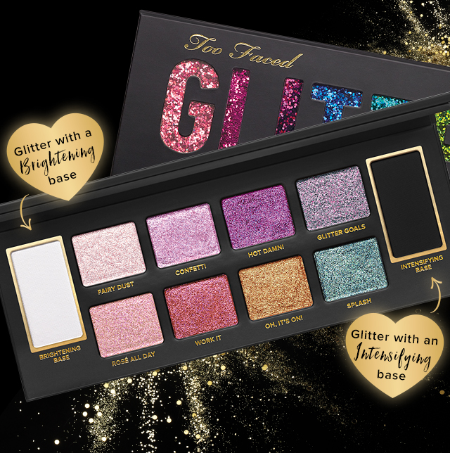 too faced glitter vibes only milled