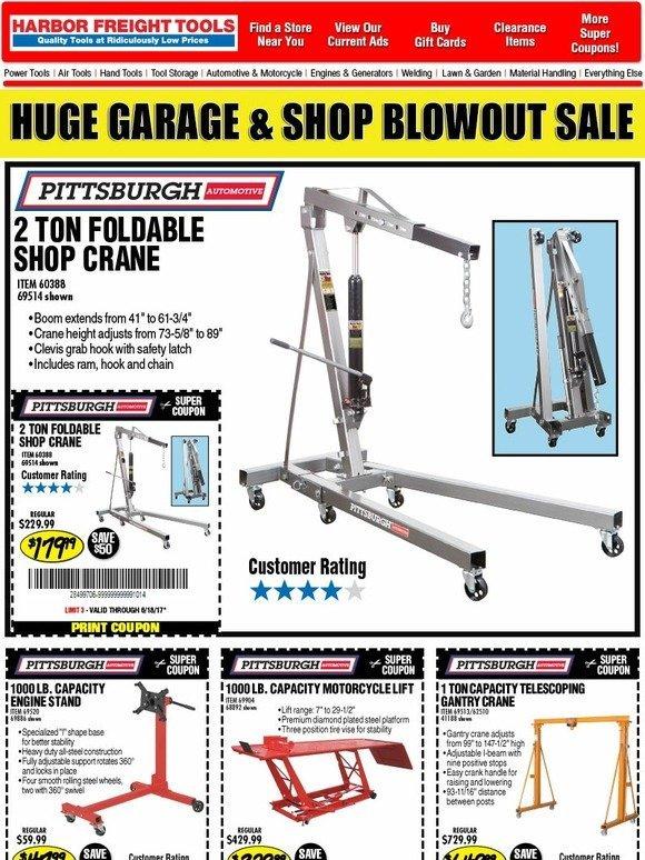Shop garage online coupons