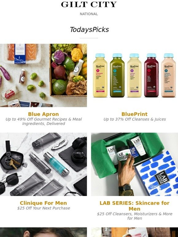 Gilt city blue apron blueprint clinique lab series skincare for gilt city blue apron blueprint clinique lab series skincare for men plus stylish jewelry from eddie borgo gourmet artisanal goods all natural bath malvernweather Choice Image