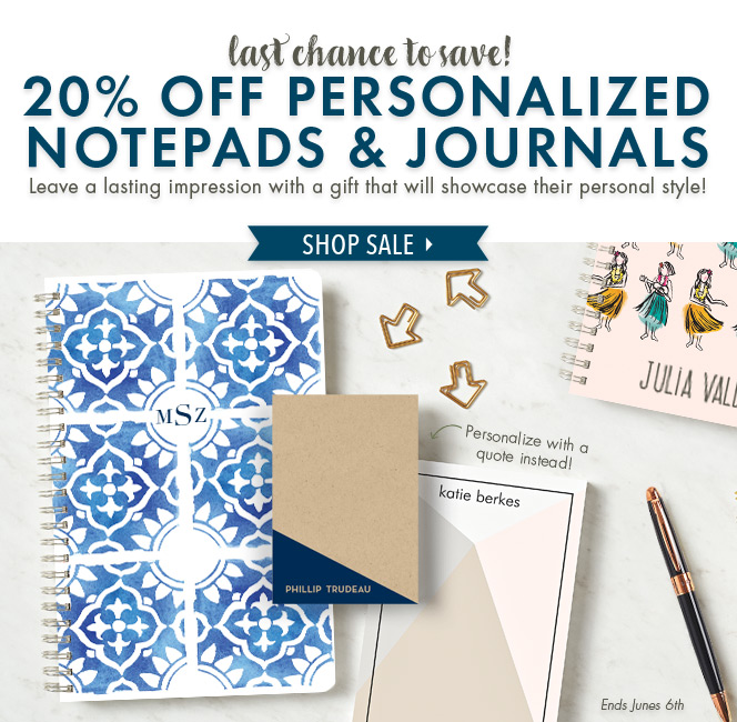 paper source custom journal sale ends tonight milled