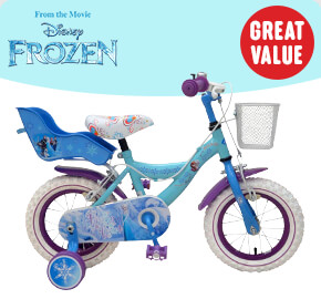 "12"" Disney Frozen Bike"