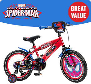 "16"" Ultimate Spider-Man Bike"