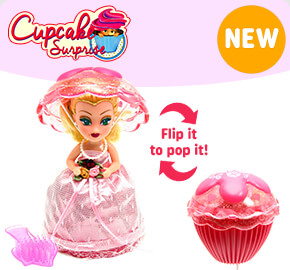 Wedding Cupcake Surprise Dolls