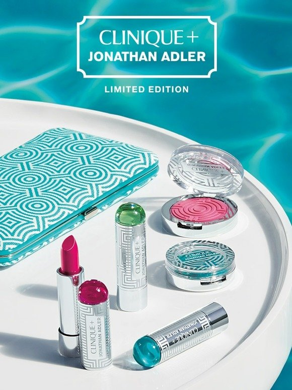 Clinique: New makeup collection designed by Jonathan Adler. | Milled