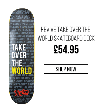 76d08255 Skatehut: Brand New ReVive John Hill Pro Deck & more... | Milled