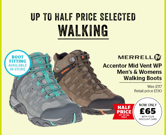 Merrell Accentor Mid Vent WP