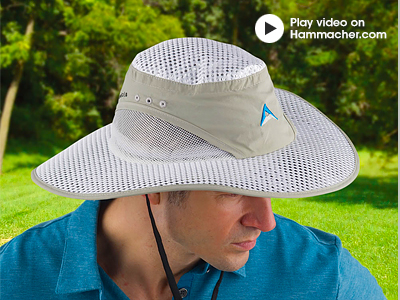 66c9f9352c4fe Hammacher Schlemmer  The NASA Strength Sun Hat
