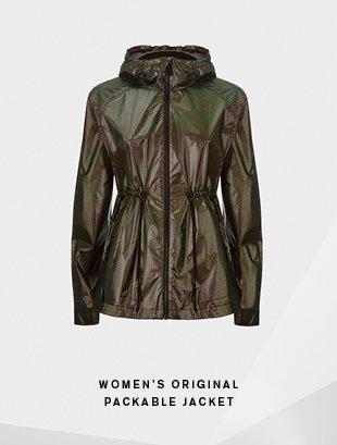 Women's Original Packable Jacket - Aurora Borealis