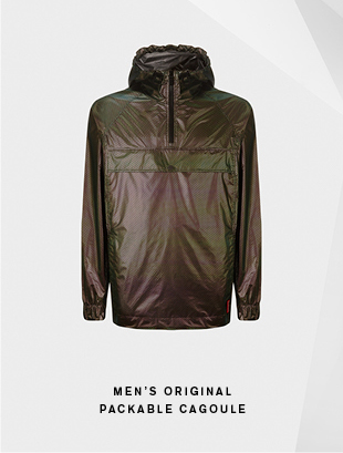 Men's Original Packable Cagoule - Aurora Borealis