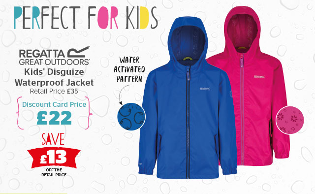 Regatta Kids' Disguize Waterproof Jacket
