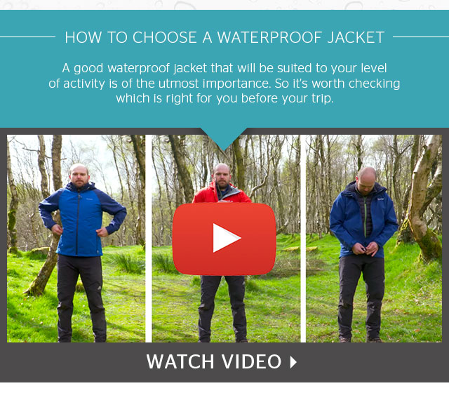 Video - How to choose a waterproof jacket