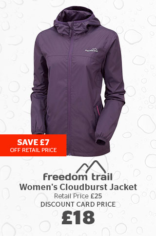 Freedom Trail Women's Cloudburst Jacket