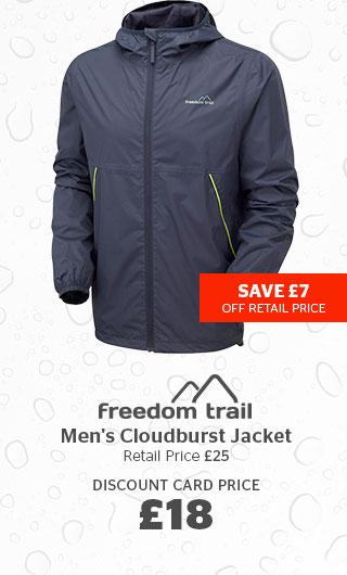 Freedom Trail Men's Cloudburst Jacket