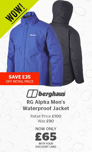 Berghaus RG Alpha Men's Waterproof Jacket
