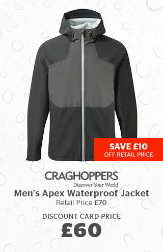 Craghoppers Men's Apex Waterproof Jacket