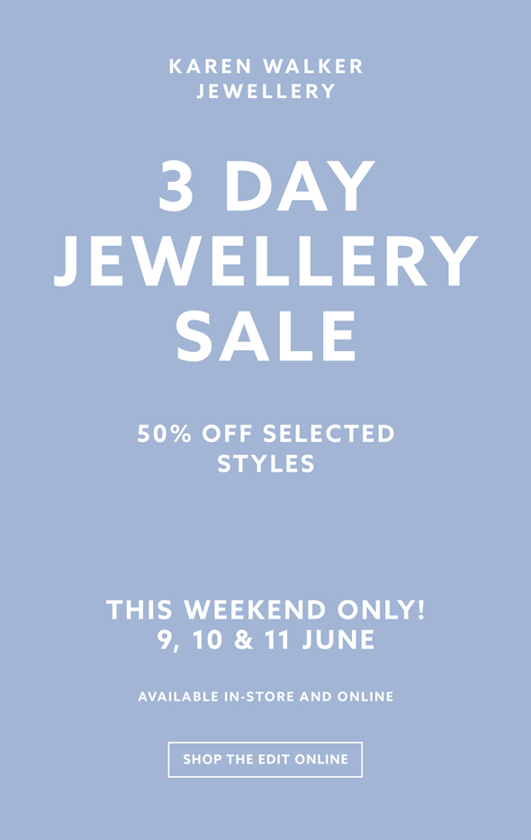 552a0ada973b Karen Walker  3 DAY JEWELLERY SALE