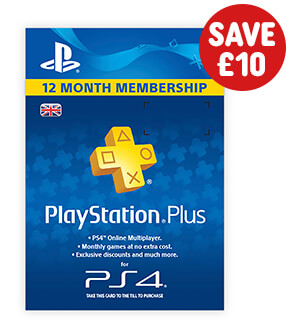 PlayStation Plus 12 Month Membership