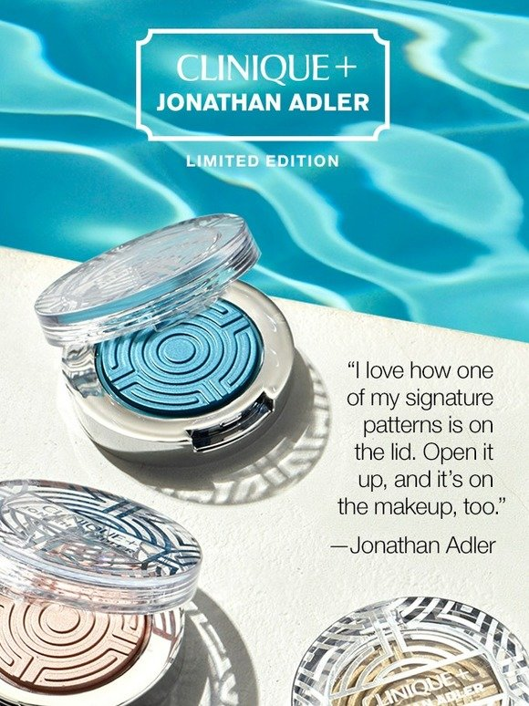 Clinique: Two pop stars get a Jonathan Adler makeover. | Milled