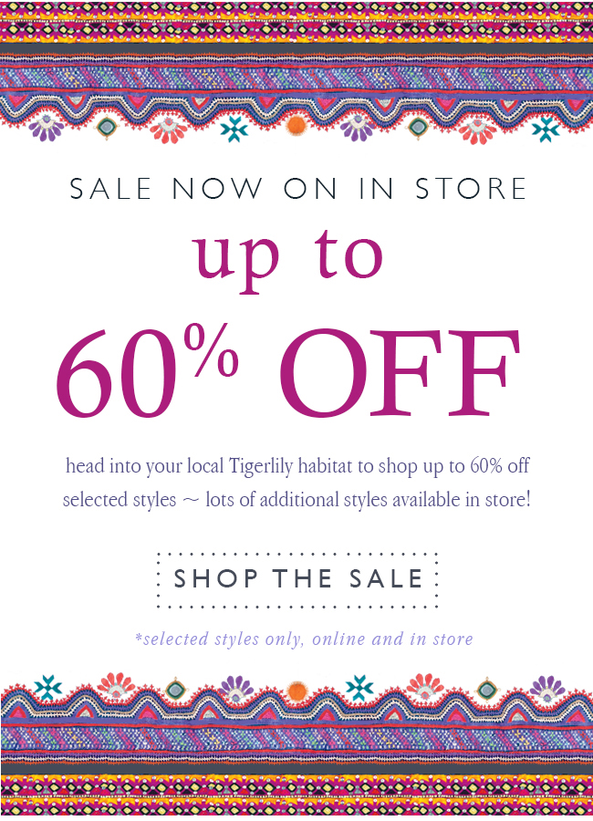 up to 60% off - shop the sale