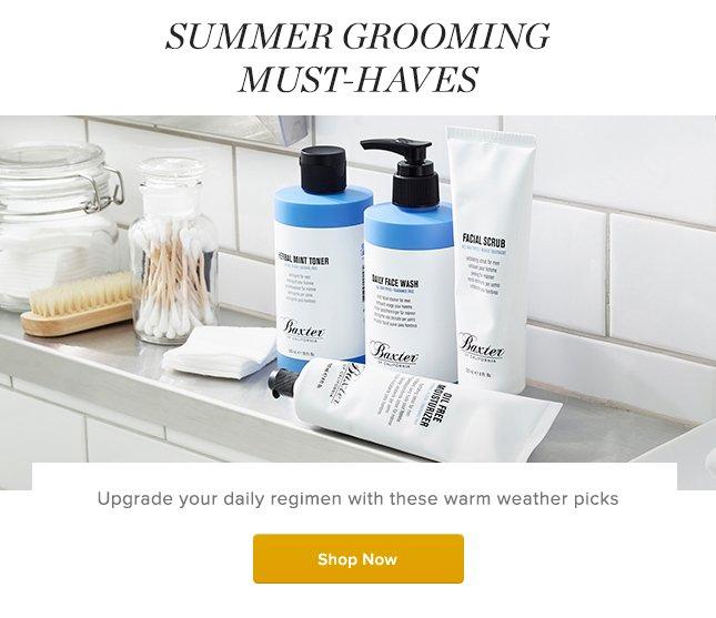 gilt summer grooming must haves for men milled. Black Bedroom Furniture Sets. Home Design Ideas