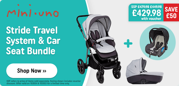 Includes pushchair, car seat, carrycot & changing bag