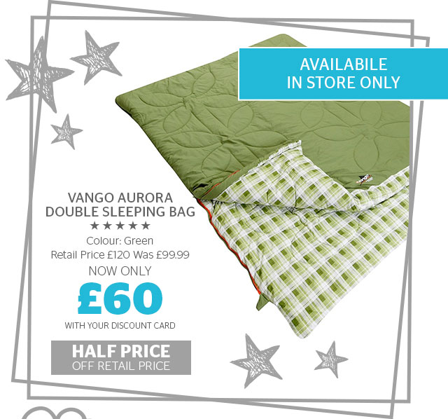 Vango Aurora Double Sleeping Bag